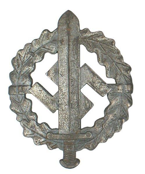 35: German WWII SA Sports Badge Bronze