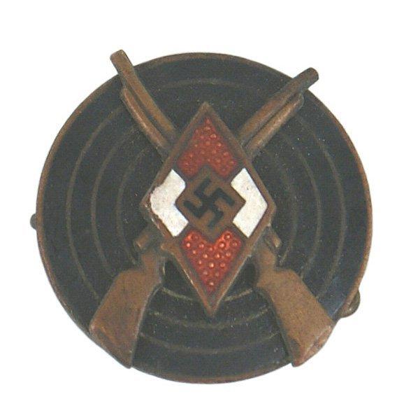 41: German WWII Hitler Youth Marksman Badge