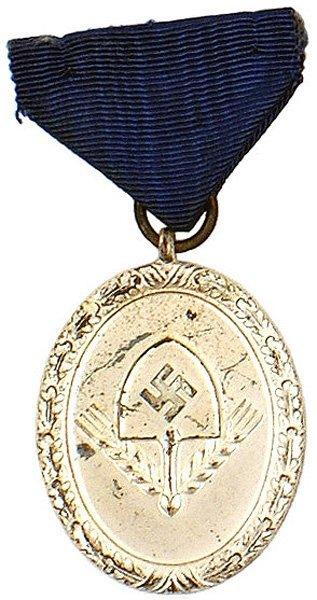 45: German WWII RAD 3rd Class Service medal