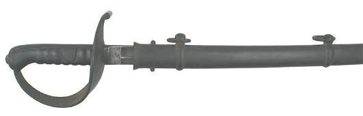 428 Austrian M1858 Heavy Cavalry Saber sword