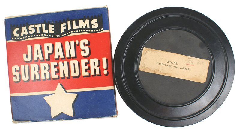 594: Lot of 2 reels of WWII wartime film
