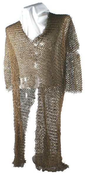 2: Early middle-eastern coat of mail armor