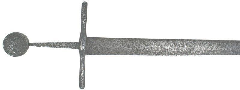 10: European Ritterschwert 14th-15th Century sword