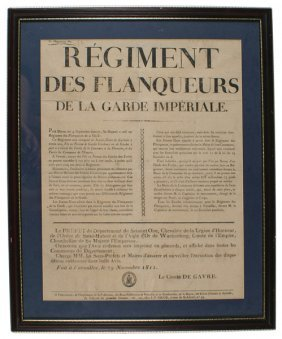 18: French Napoleonic recruiting poster