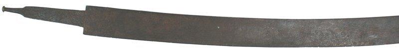 21: Unknown sword Japanese wakizashi