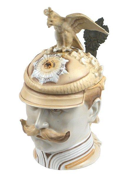 323: Musterschutz character stein Kaiser Wilhelm II