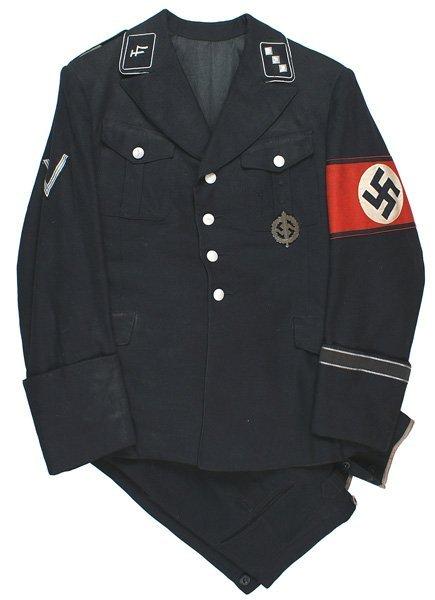536: German WWII Allgemeine SS uniform