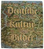 682 German book KULTUR BILDER cigarette album