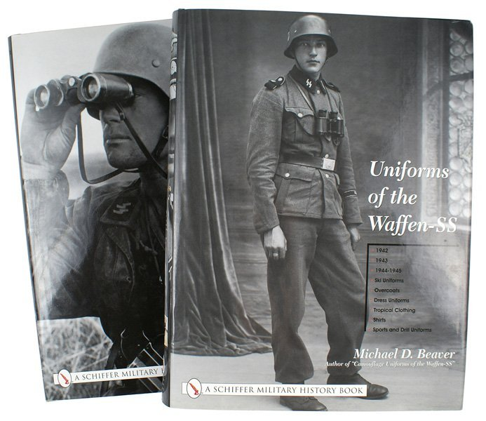 716: German reference books Uniforms of the Waffen-SS