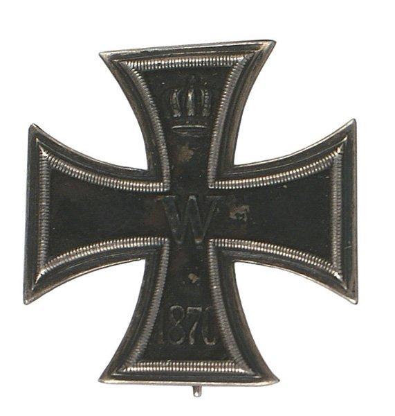 1: German 1870 1st Class Iron Cross