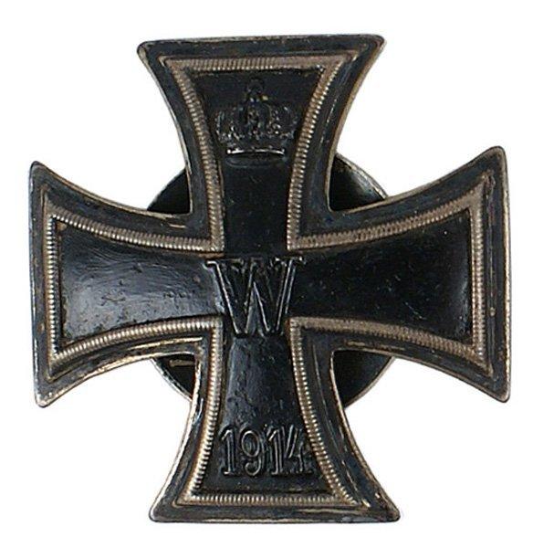 4: German WWI 1914 Iron Cross 1st class