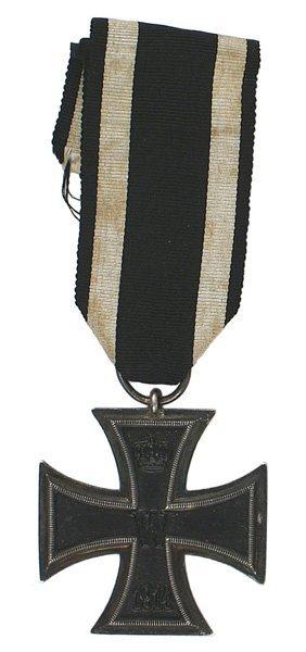 7: German WWI 1914 Iron Cross 2nd Class
