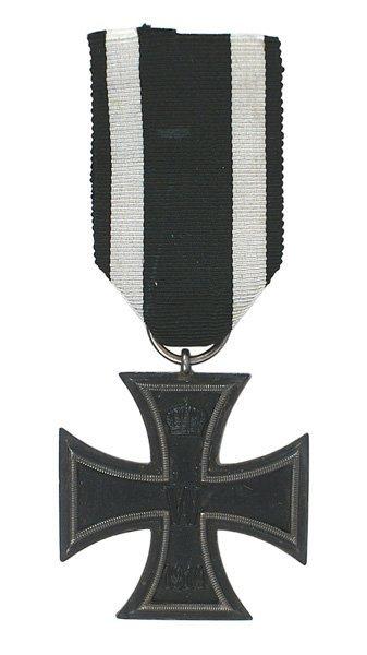 8: German WWI 1914 Iron Cross 2nd Class