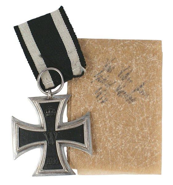 11: German WWI 1914 2nd Class Iron Cross