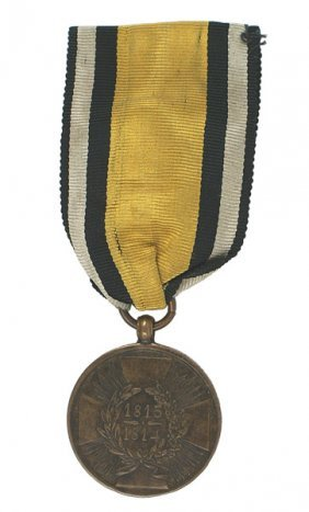 German WWI Prussian Napoleonic Medal