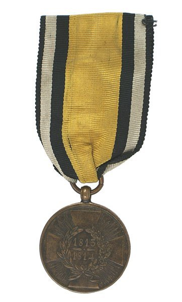 12: German WWI Prussian Napoleonic Medal