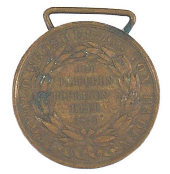 13: German Baden Leopold Bravery Medal
