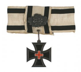 German Women War Service Cross Franco Prussian War