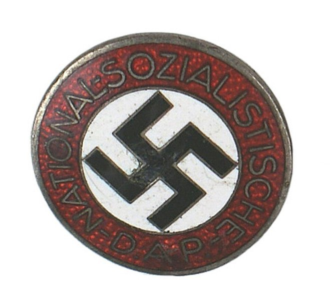 24: German WWII NSDAP lapel pin