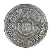 464 German WWII SS officer belt buckle