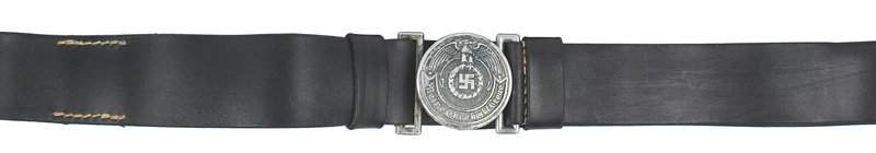 688 German WWII SS officer belt and buckle REPRO