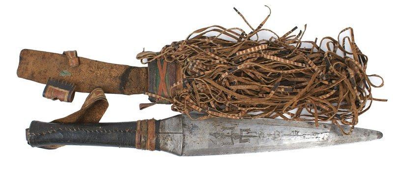 African Congo dagger Circa 1930