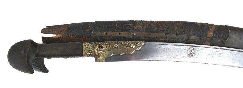 Caucasus yataghan sword Circa 1880