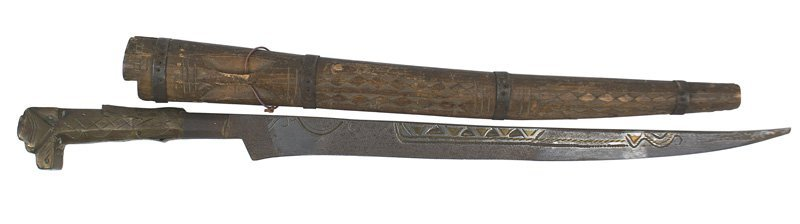 Moroccan flyssa Traditional knife of the Kabyles