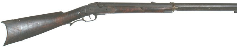 Restoration project American percussion target rifle