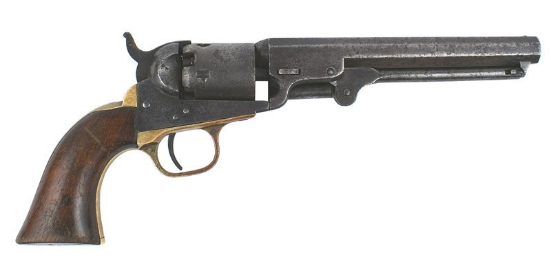 Colt 31 cal. pocket model percussion pistol