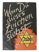 ThirdReich antiSemetic propaganda pamphlet
