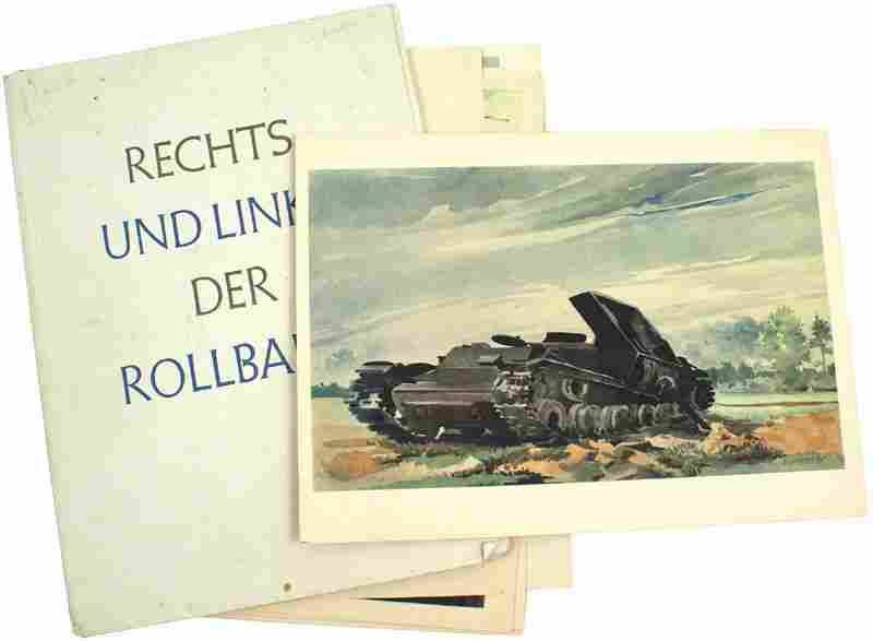 German WWII Portfolio 24 prints Eastern Front