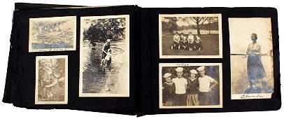 US WWI Navy photo album