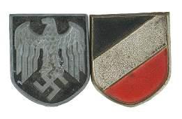 Set German WWII Afrika Korps shields