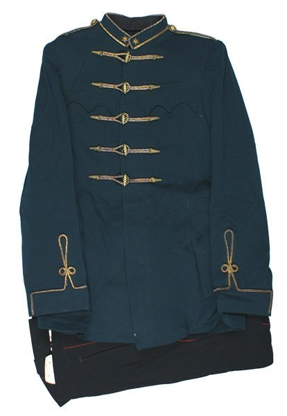 Hungarian career officer WWII uniform group - 3
