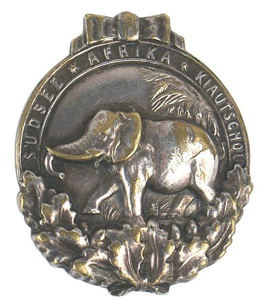 German WWI The Colonial Badge elephant