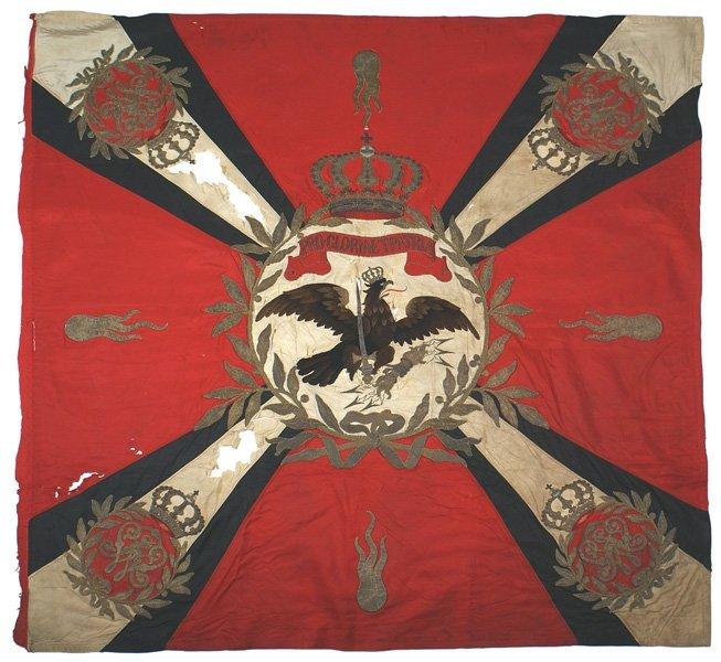 Imperial German Infantry Line Regiment Standard