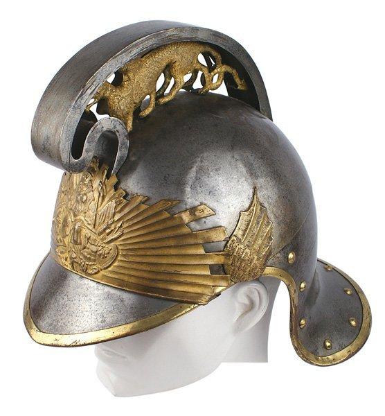 Unusual European Court Helmet 19th Century