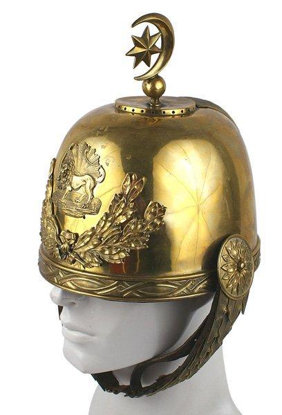 Persian Qajar Period dress helmet