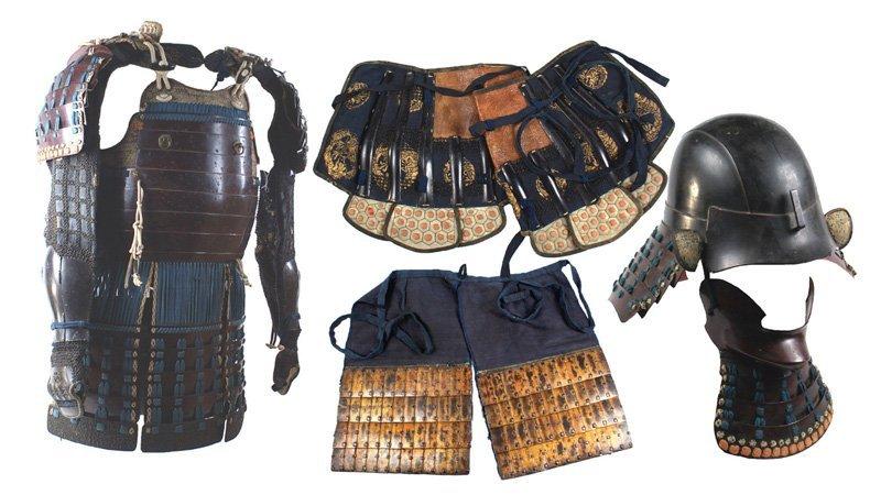 Japanese Edo Period armor Samurai