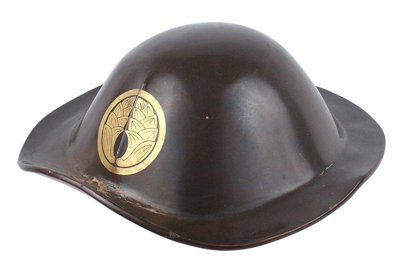 Japanese Jingasa parade helmet 19th Century
