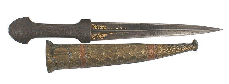 Indo-Persian dagger 18th 19th Century