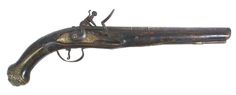 Ottoman flintlock pistol Circa 1760-1780