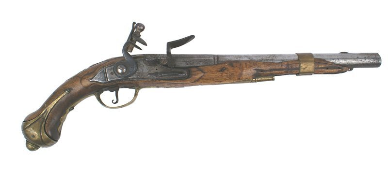 French flintlock Ordnance pistol H.MEUNIER
