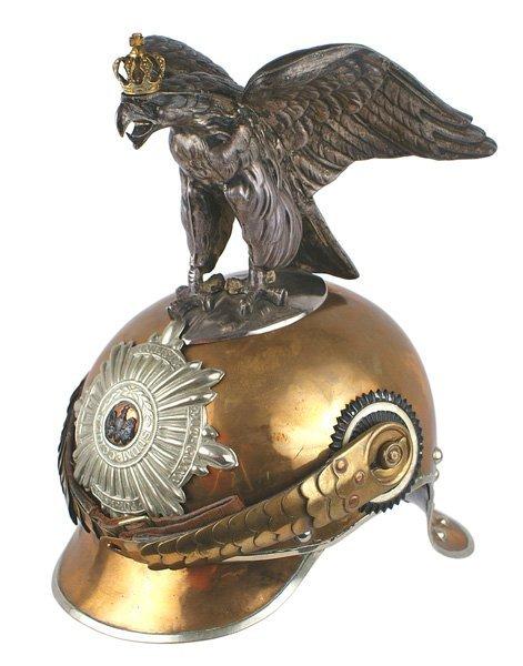 Prussian EM/NCO Garde du Korps helmet