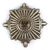 Prussian Garde du Korps EM helmet front plate