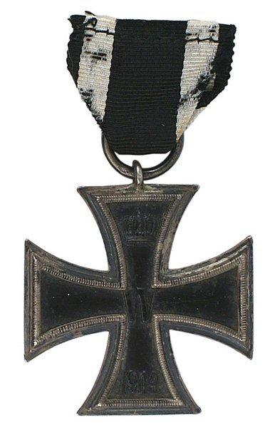 German WWI 2nd Class Iron Cross medal