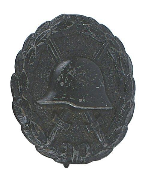 German WWI Wound Badge Black medal