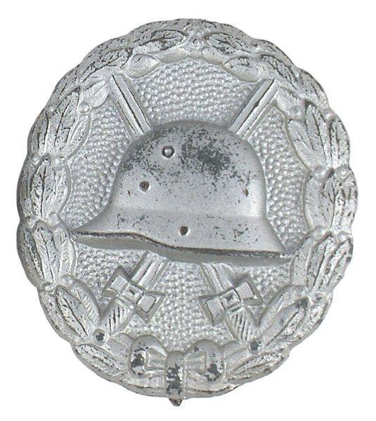 German WWI Wound Badge Silver medal