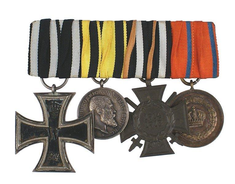 German WWI Medal bar Iron Cross